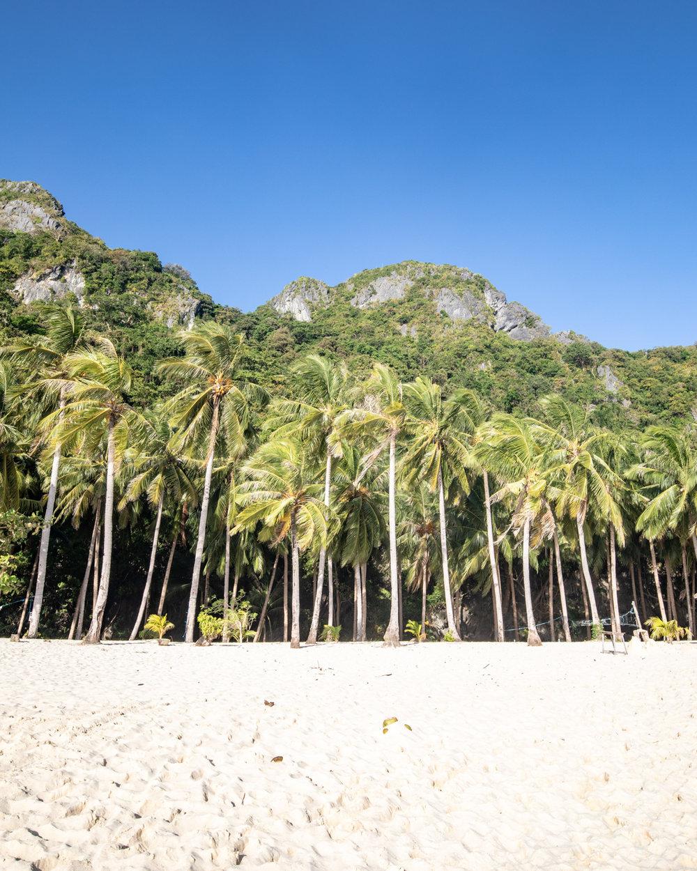 Seven Commandos Beach - El Nido, Palawan