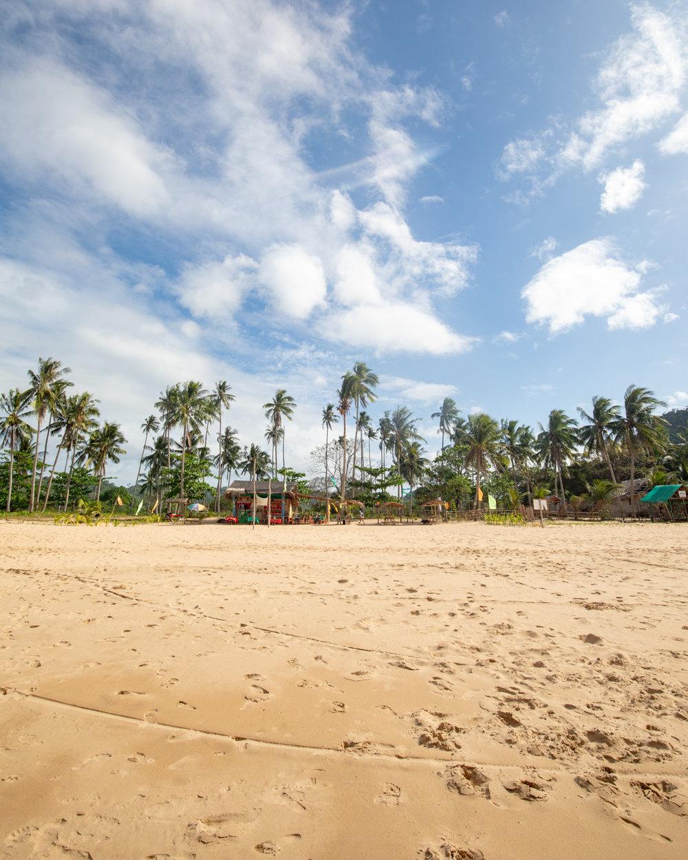 Duli Beach, El Nido Palawan