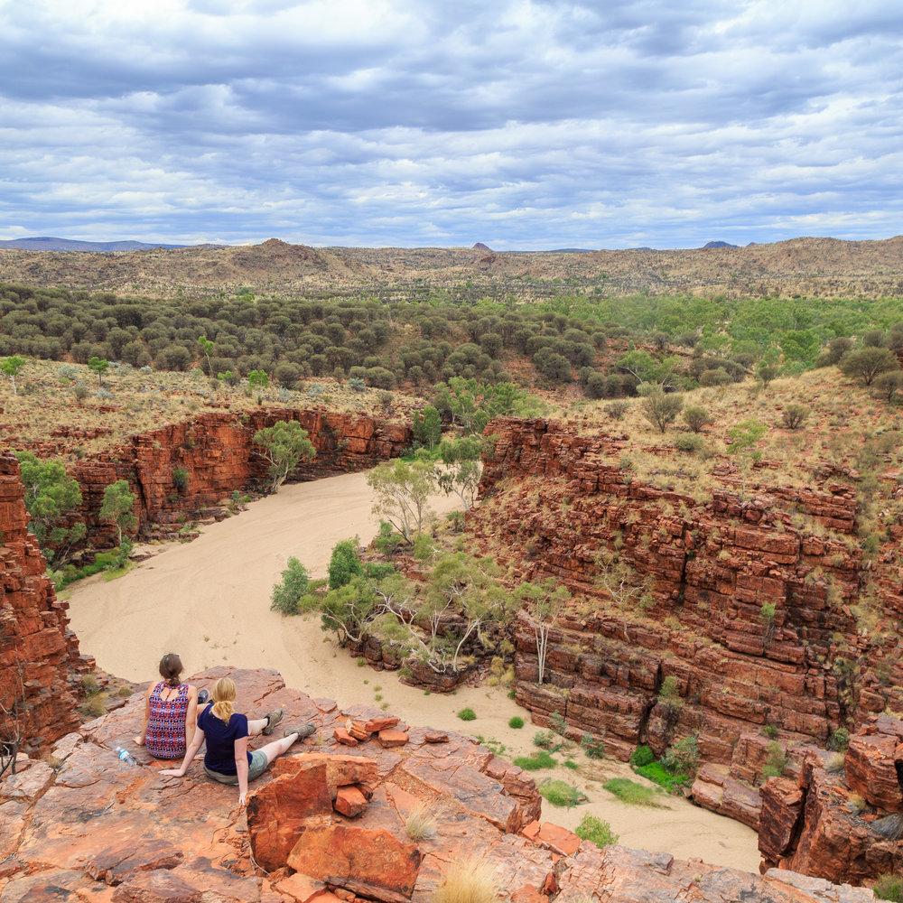 Trephina Gorge - Alice Springs to Uluru Itinerary
