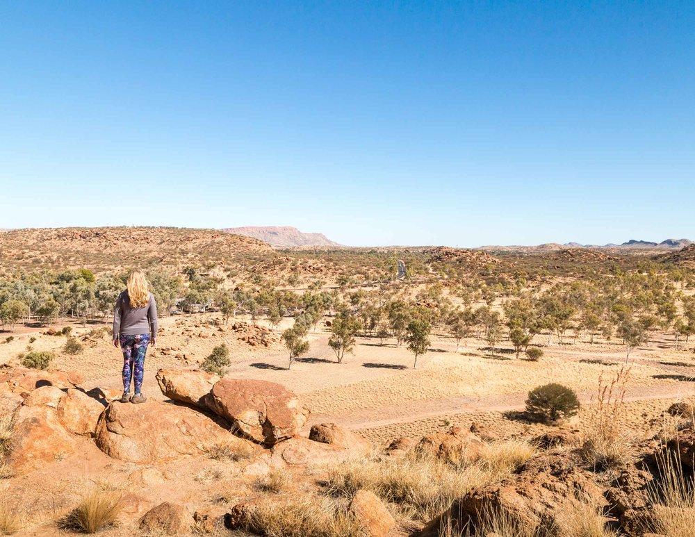 Telegraph Station in Alice Springs