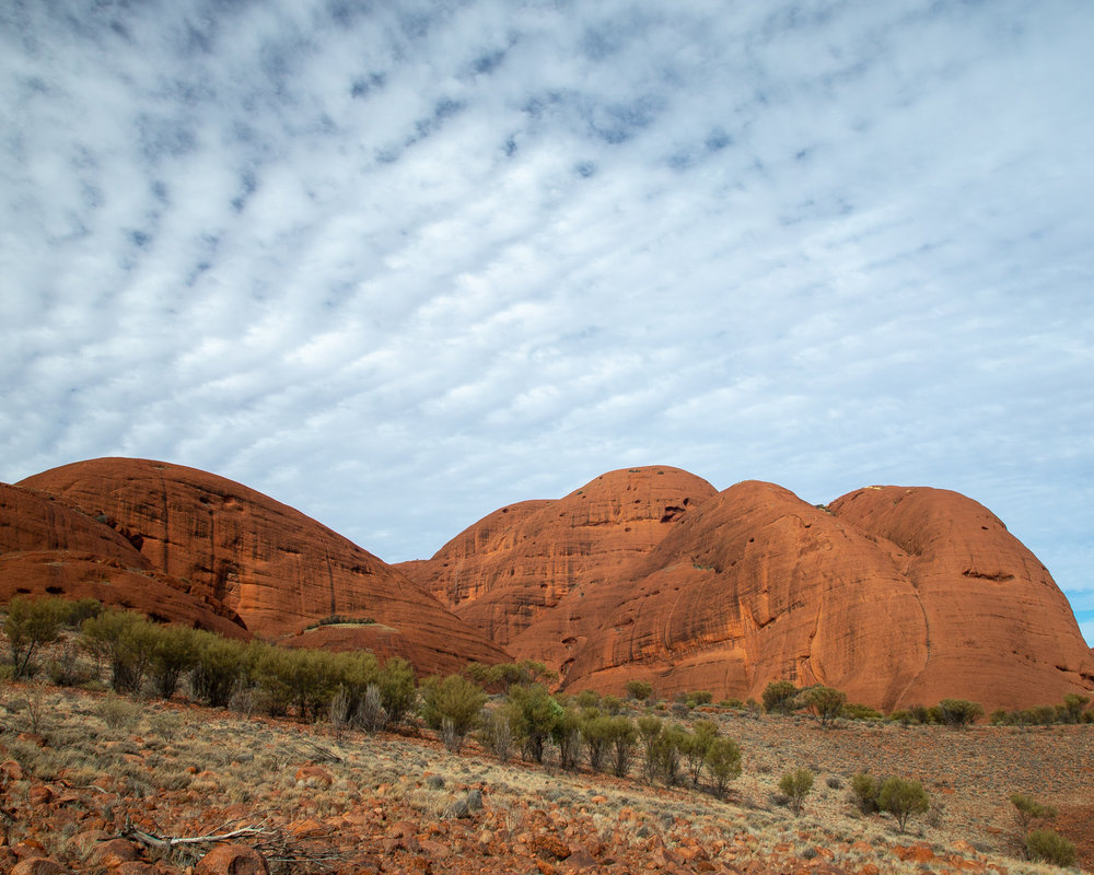 Valley of the winds walk in Uluru