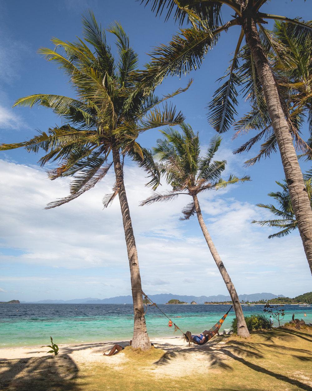 Hammocks on Banana Island