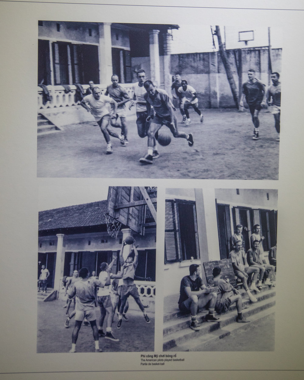 """Some of the """"happy faces"""" of American Prisoners of War in Hoa Lo"""