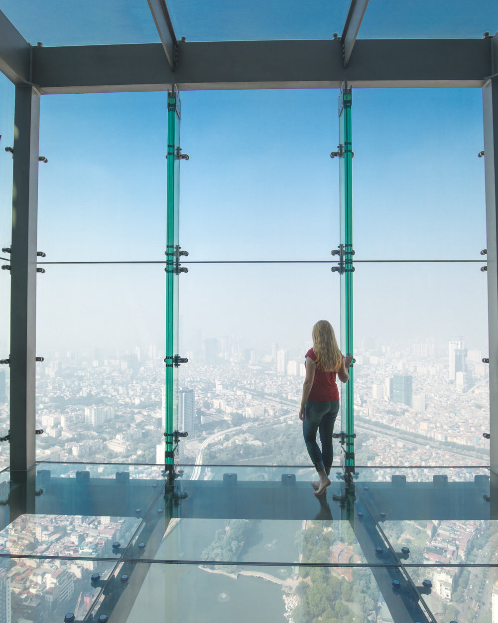 The views from the Lotte Tower