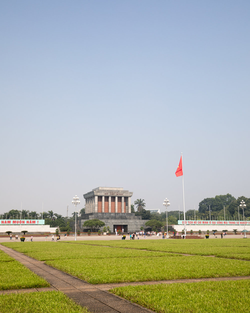 The Mausoleum of Ho Chi Minh