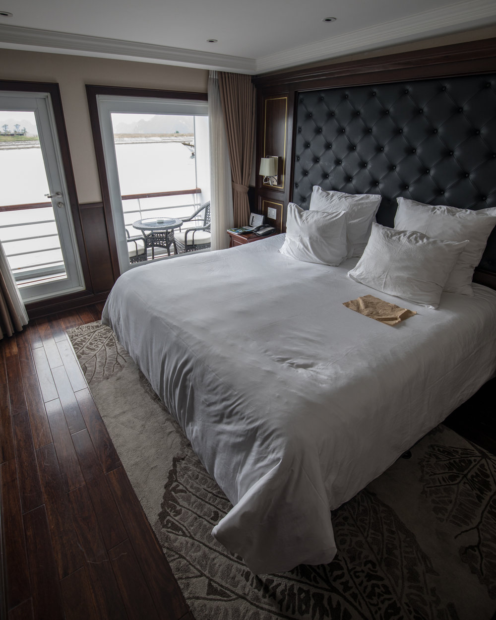 The room on the Paradise Elegance Cruise