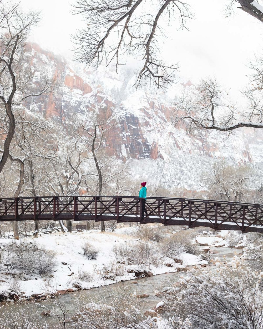 Benefits of Zion National Park in Winter