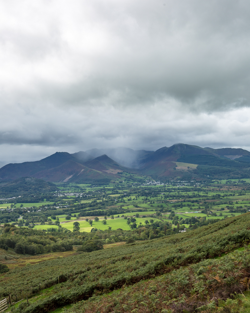 The views from Skiddaw