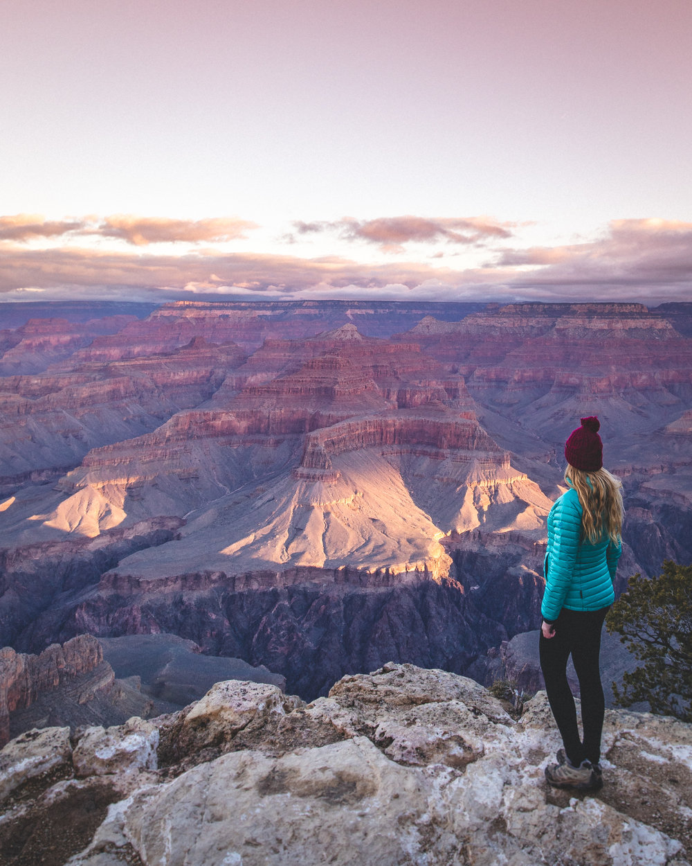 The stunning views of the Grand Canyon from the Rim Trail