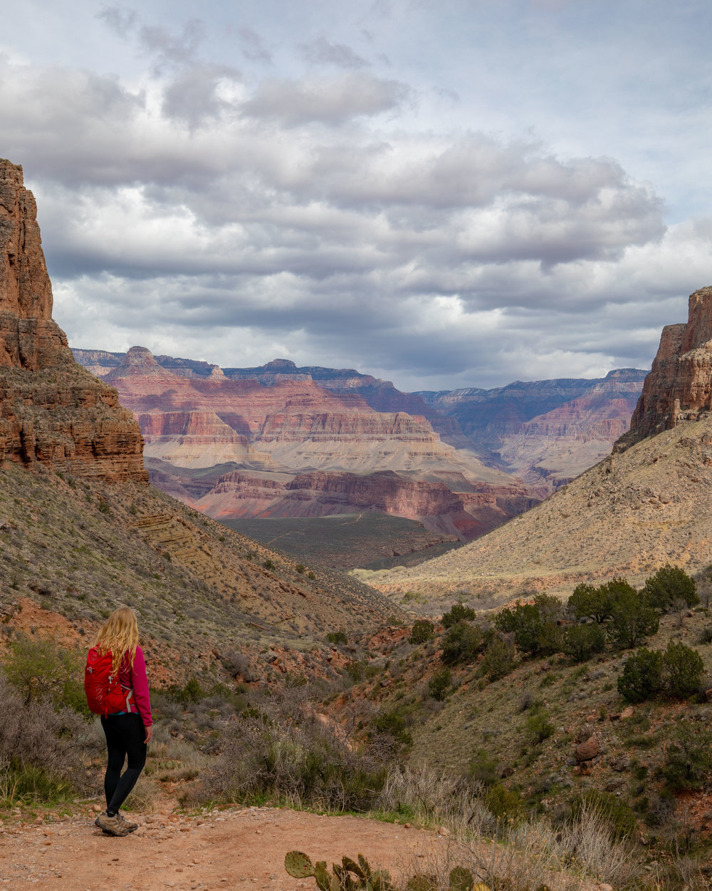 One of the views from the Bright Angel Trail
