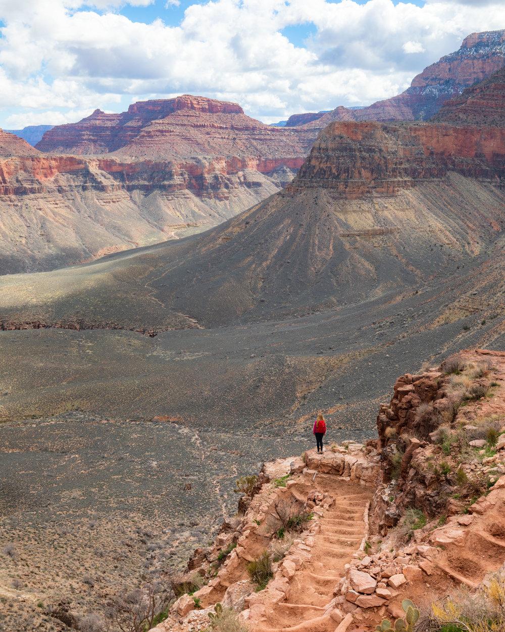 The trail to Phantom Ranch