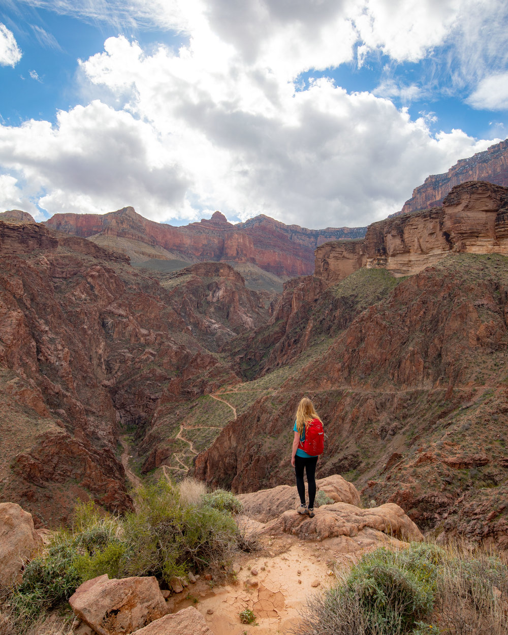 Views on the Bright Angel Trail
