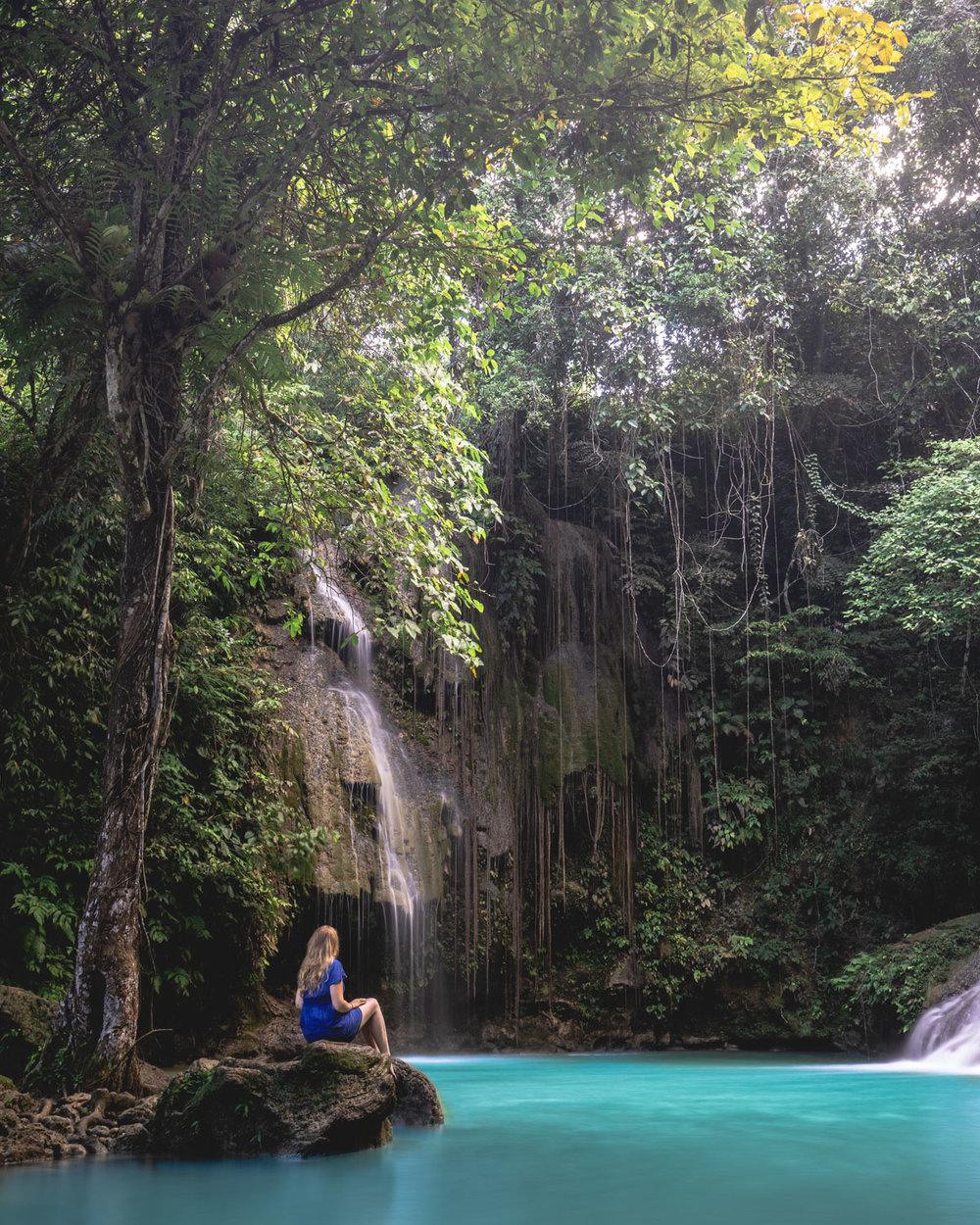 Cambais Falls in Cebu