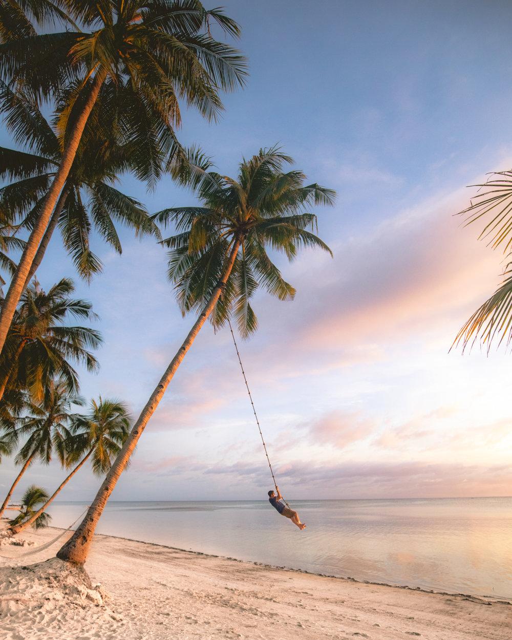 I chose the swing  😂