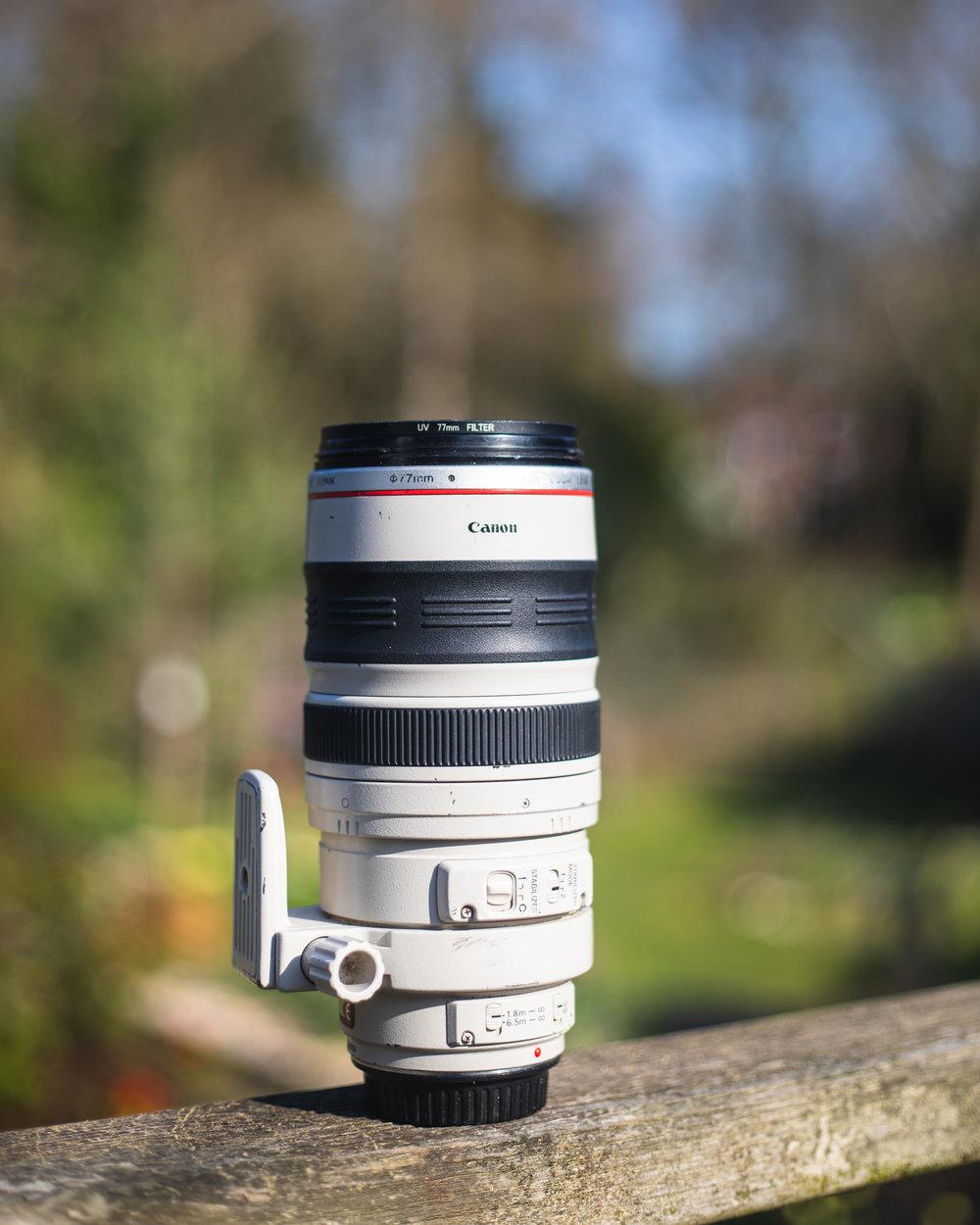 Telephoto Lens - Canon 100-400mm