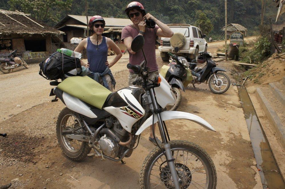 Motorbike Burma