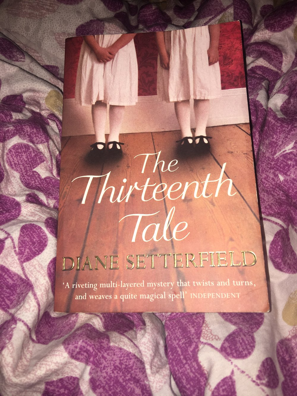 The Thirteenth Tale - By Diane Setterfield | StandaloneMy rating: 5 stars  |  Pages: 456What made me pick it up: Travelling Book Group PickFormat: Physical  |  Source: Friend2018 challenge/s: BookRiot ReadHarder; Goodreads Reading Challenge