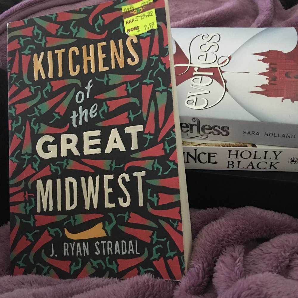 Kitchens of the Great Midwest - I tried but the sticker won't come off without leaving a mess :(
