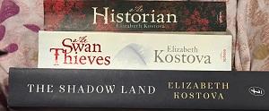 elizabeth kostova book stack