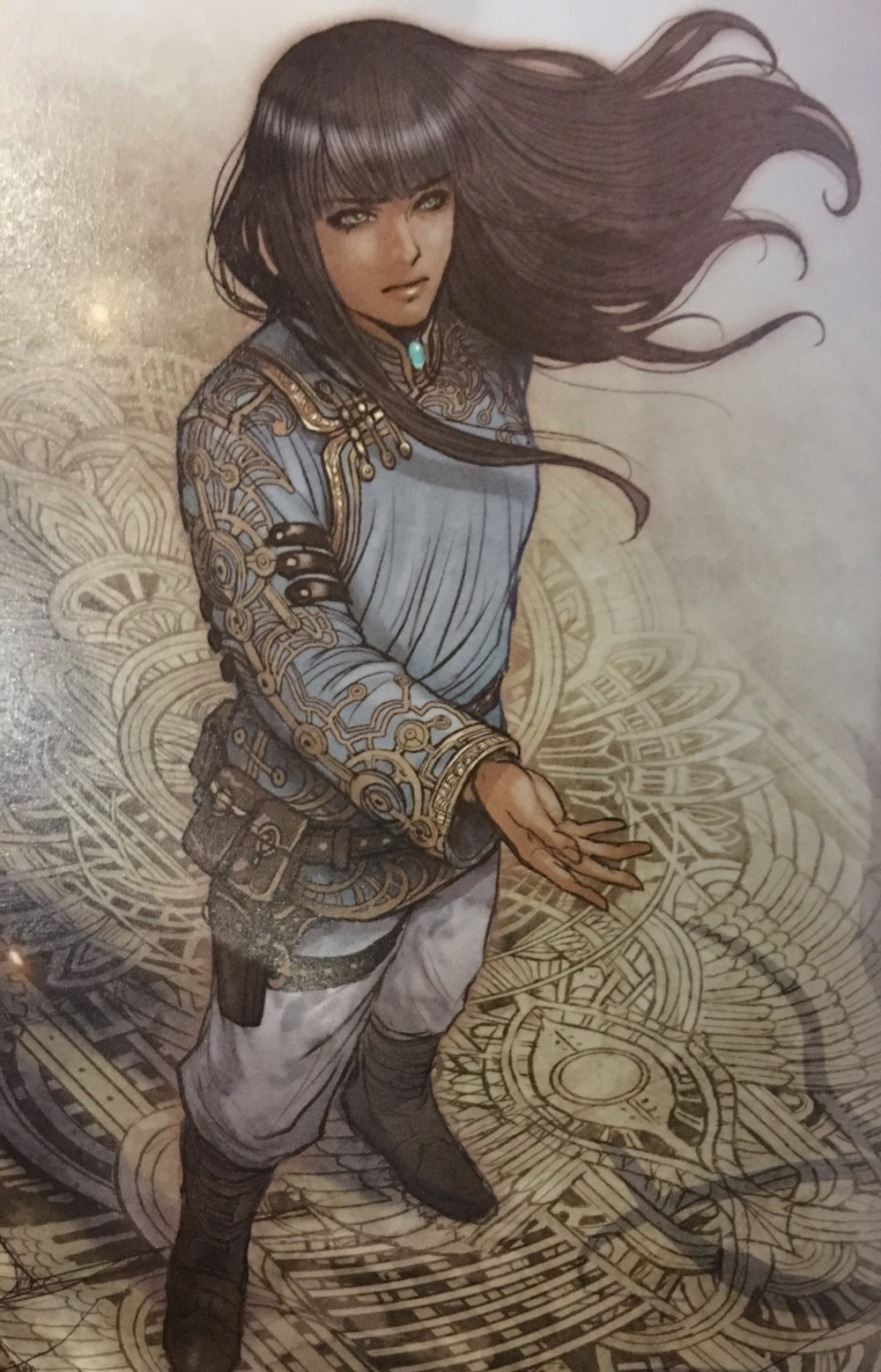 Piece of art from Monstress Vol.1