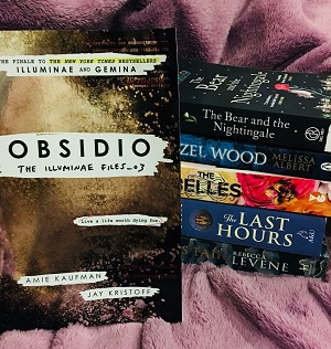 Obsidio, a preordered last book in one of my favourite series