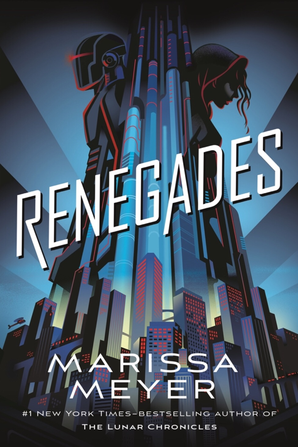 Renegades - By Marissa MeyerMy rating: 4 stars   Pages:556What made me pick it up: I love a good superhero story, especially a villain backstoryFormat: eBook   Source: BorrowBox2018 challenge/s: Goodreads 2018 Reading Challenge; AusYA Blogger Challenge 2018