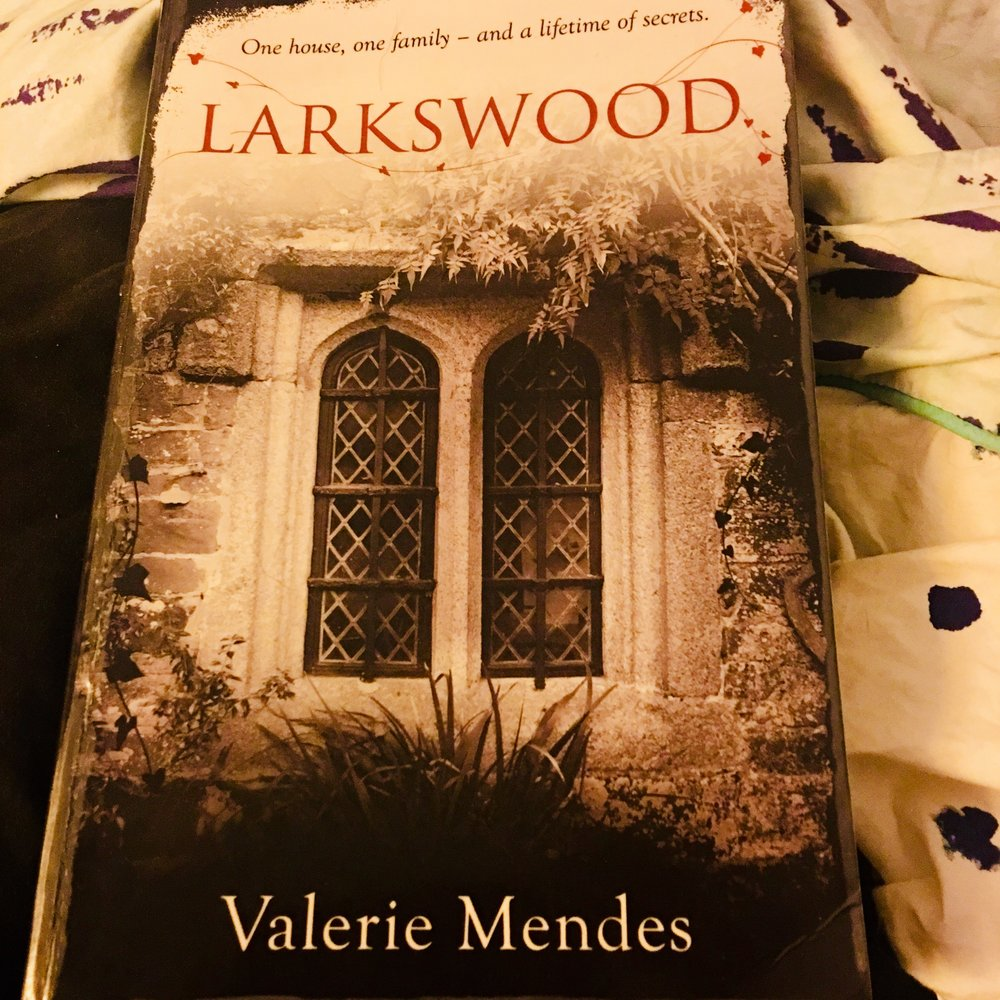 Larkswood - By Valerie Mendes | StandaloneMy rating: 5 stars | Pages: 400What made me pick it up: I found the book while hunting through Book Depository's bargains and saw using the library extension app that my library had copies in stock. Plus, I can't resist a gothic historical fiction novelFormat: Paperback | Source: Library2018 challenge/s: Goodreads 2018 Reading Challenge