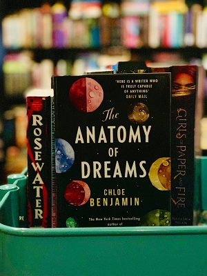 The Anatomy of Dreams on Bindro's Bookshelf