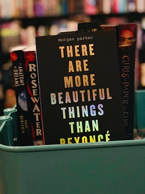 There are More Beautiful Things than Beyonce on Bindro's Bookshelf