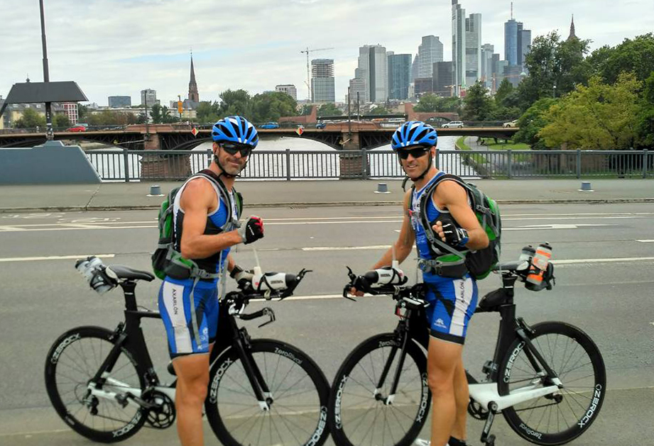 NEXT:ADVENTURE OF TWINS - We interviewed the Montoro twins so as to know their experiences and impressions of the 3400km cycling journey that separate Málaga from Copenhaguen.