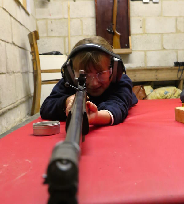 West Sussex prep school Sompting Abbotts has a purpose-built shooting range that is used by boys and girls during the weekly Shooting Club