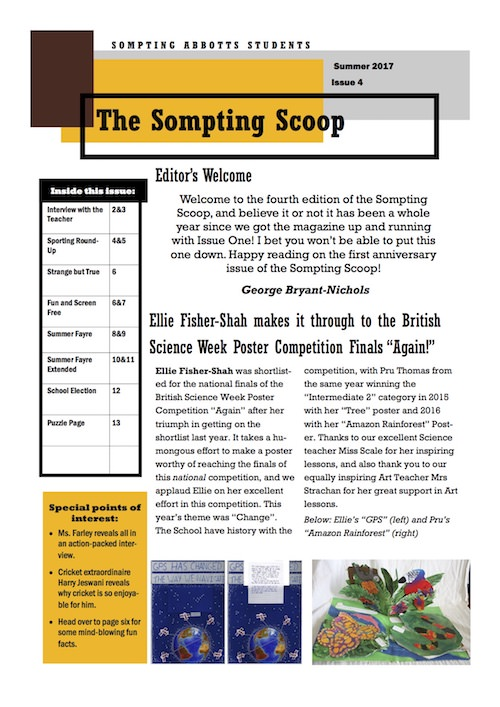 Sompting Scoop - Summer 2017
