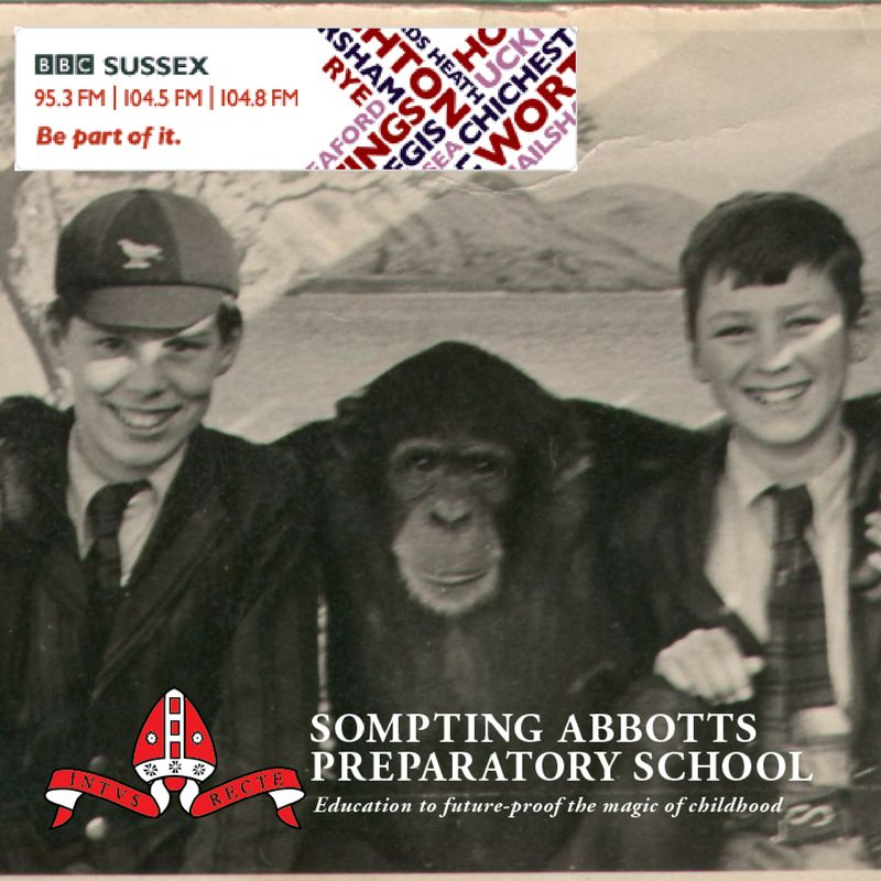 BBC Radio Sussex interview Headmaster Stuart Douch about the wartime letter discovery -