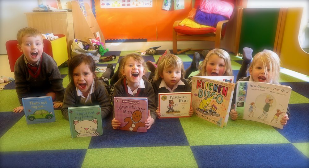 Top 10 books for pre-schoolers by Sompting Abbotts