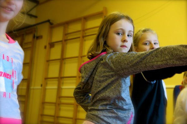 Modern dance club is one of the many arts-related extra-curricular activities on offer at Sompting Abbotts Preparatory School -