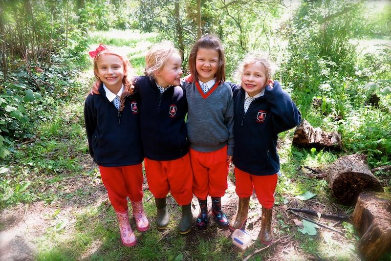 forest school activities in sompting abbotts woods