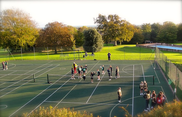 Inter-house Netball Tournament on Sompting Abbotts' Netball Courts