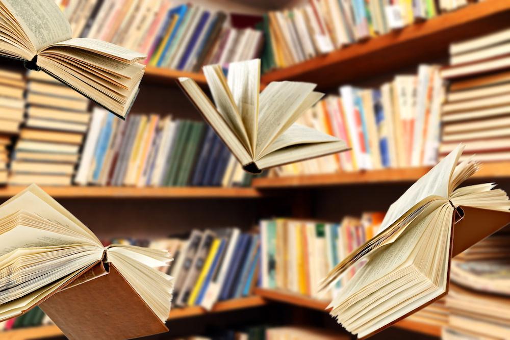 somptingabbotts books in library.jpeg
