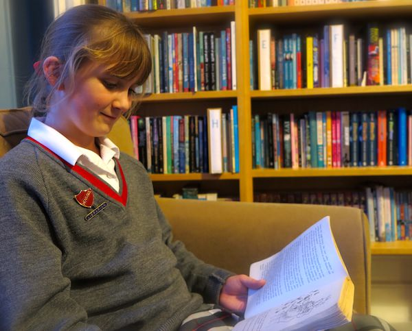 """Roald Dahl's Matilda is one of my favourite books."""