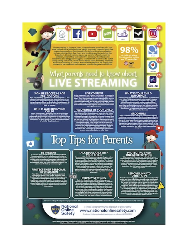 What Parents Need to Know About the Use of Live Streaming