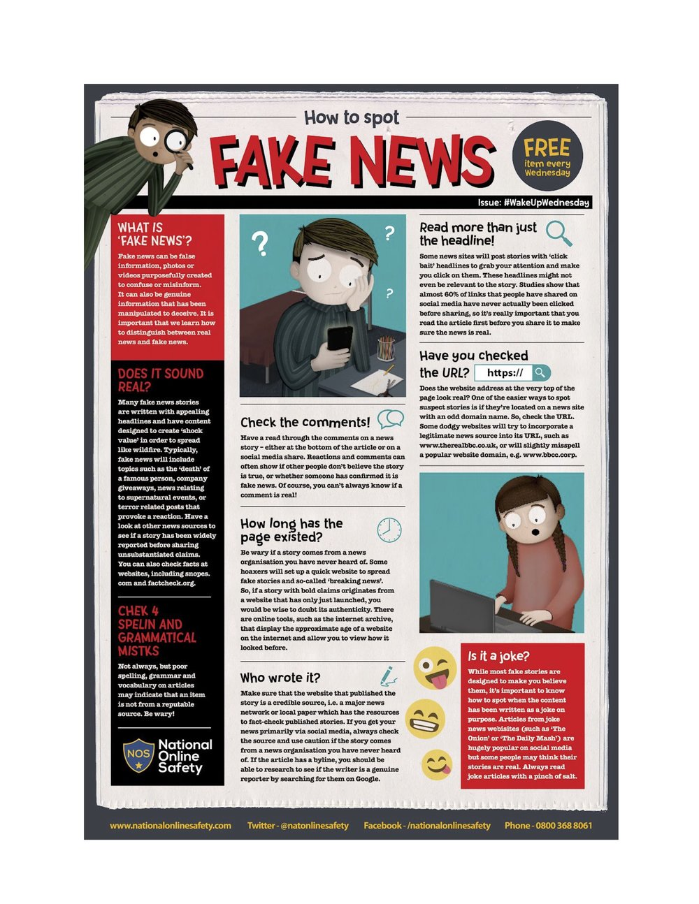 Top Tips for Parents on How To Spot Fake News Online