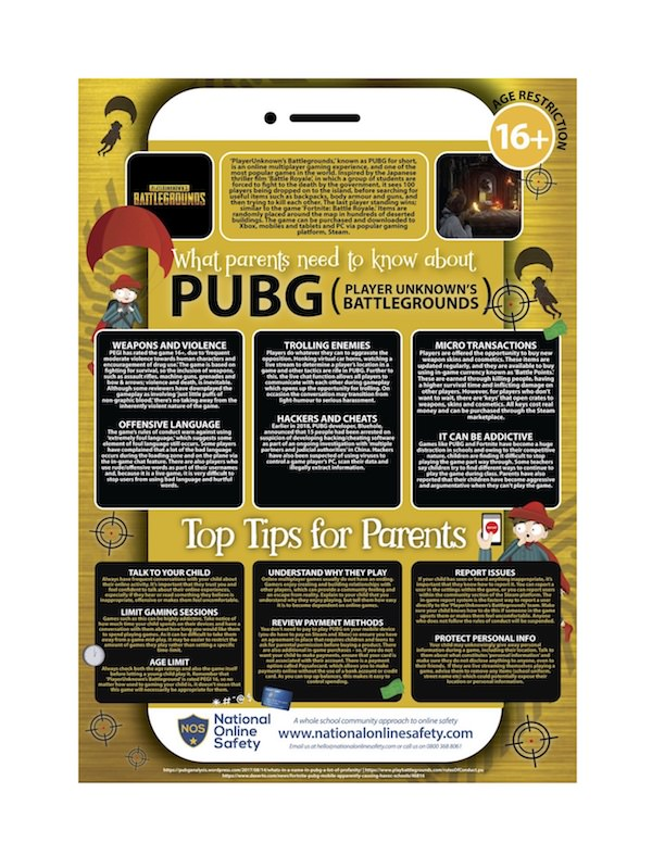 What Parents Need to Know About Children's Use of PUBG