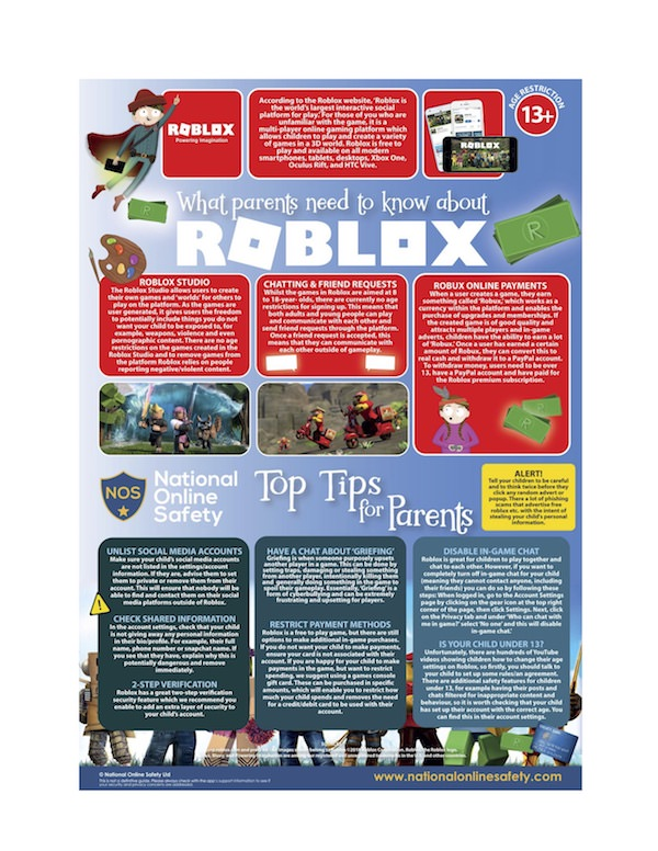 What Parents Need to Know About Children and Use of Roblox