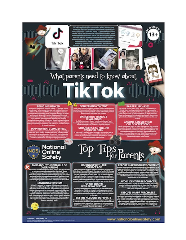 TikTok Safety Guide with Tips for Children's Use for Parents