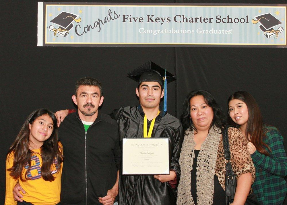 LA Community Graduation - 2014 December