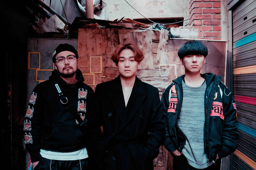 Hazed & confucius - A look at an upcoming Seoul-based house music trio.