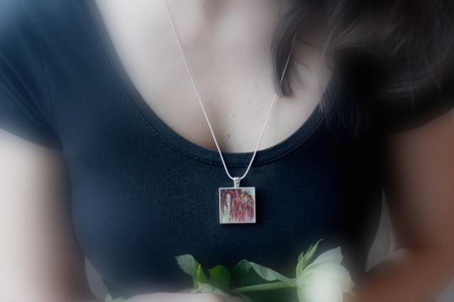 Flowering - Sacred Feminine Art Pendant