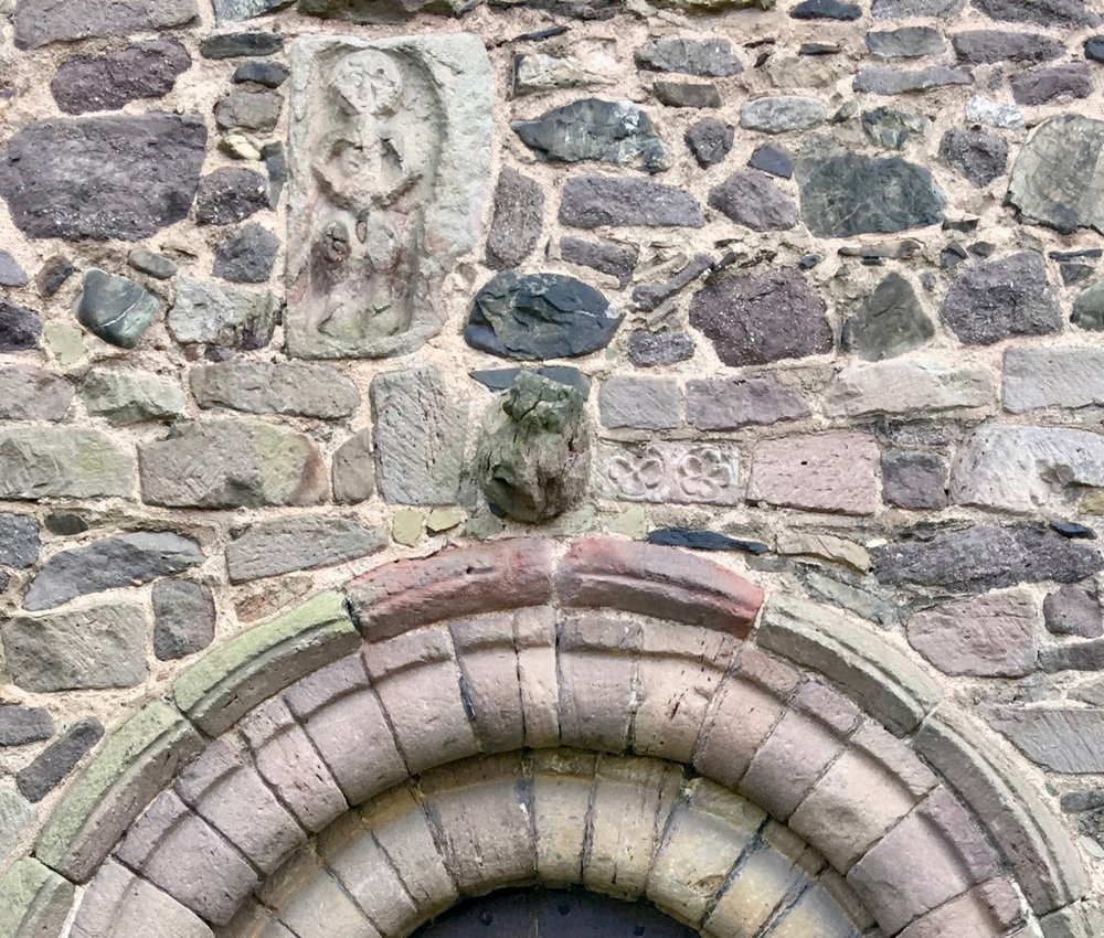 Church Stretton Sheela Na Gig