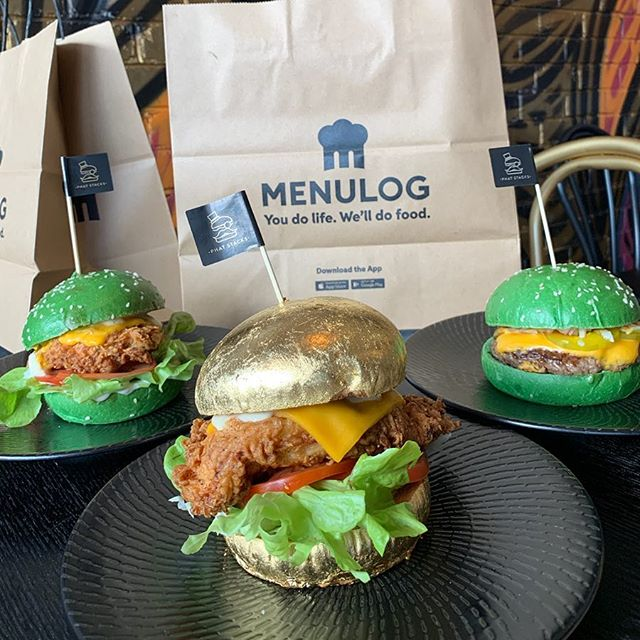Have you ordered your Lucky 🍀 Clover burger on @menulog  yet ? Jump on the platform and order yours today for your chance to win a FREE 24k version in addition to the burger you order.