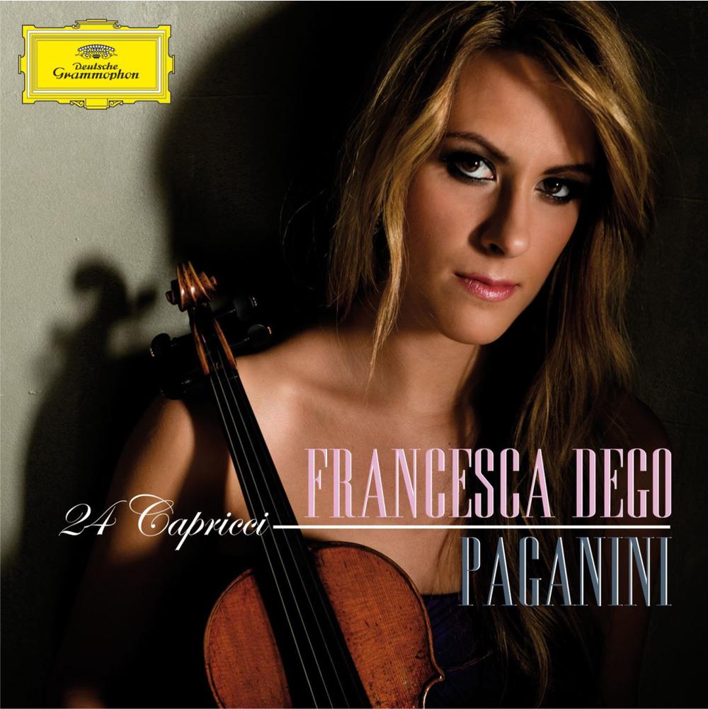 NICCOLO' PAGANINI 24 Capricci op. 1 Francesca Dego, violin 2012 Deutsche Grammophon 481 0025 GH DDD CD iTunes